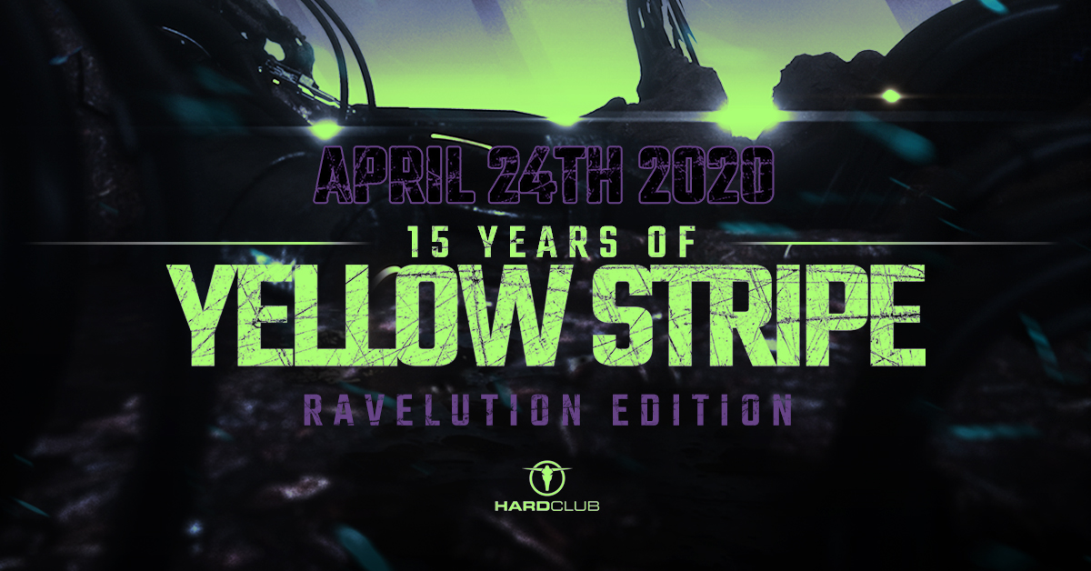 Image of 15 Years Of Yellow Stripe - Ravelution Edition